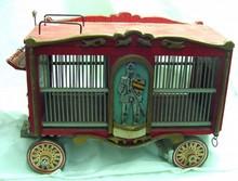 Handmade Animal Transport Circus Wagon