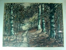William Eyden Indiana Artist Original Landscape