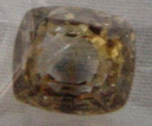 5.63 Ct. Loose Pale Yellow Sapphire