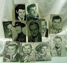 11 1950s Entertainer Cards