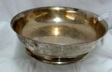 German 835 Silver Arts & Crafts 1920s Handmade Bowl