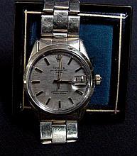 Rolex Oyster Perpetual Date Men's Wrist Watch