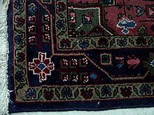 Persian Wool Hamadan Rug