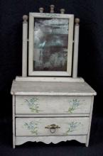 1890's Childs Toy Dresser Painted Surface