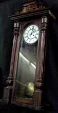 1890 Vienna Regulator Wall Clock