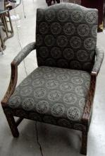 50s Chinese Chippendale Arm Chair