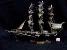 Flying Cloud 1851 Wooden Model Ship