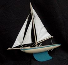 Star Toy Yacht Birkhead English Wooden Boat