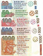 Hong Kong 2003, banknotes set