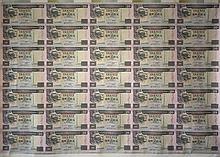 Hong Kong 1995, $20 uncut banknotes