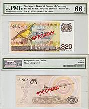 Singapore 'Bird' $20 banknote