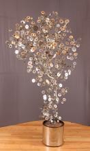 Deco Silver Teardrop Tree after Jere