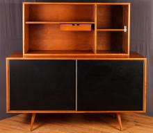 Paul McCobb Sideboard with China Cabinet