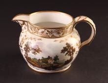 Fine Early Derby Porcelain Wales Pitcher