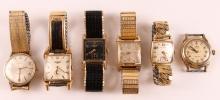 Assorted Lot of 10k Gold Filled Men's Watches