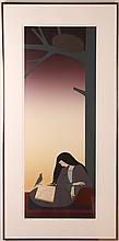 Will Barnet 1978 original lithograph