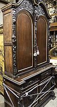 Massive Antique Bookcase
