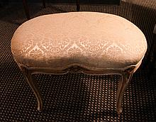 Antique Bench and Footstool