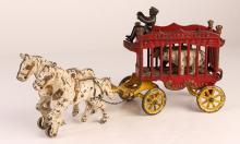 Kenton Overland Circus Cage Wagon