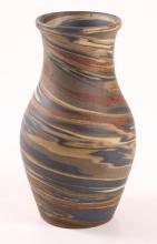 Niloak Vase Mission Pottery Swirl