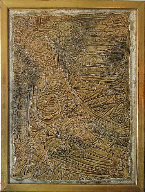 Ruth Strick Relief Painting