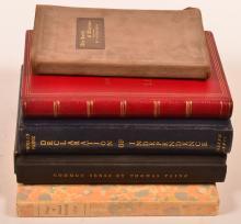 Five works by Alexander, Hugo, Lewis & Paine.