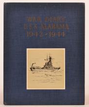 One Volume - War Diary U.S.S Alabama