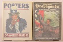 Two Volumes - Posters of WWII