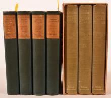 Seven Volumes - Diary & Letters, various