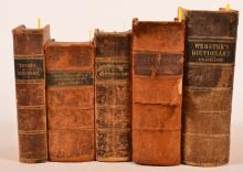 Five Volumes - Dictionaries