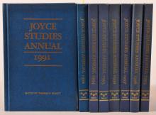 Staley, ed. Joyce Studies Annual. 1990-1997. 8 vols. Publ. by Univ. of Texas.