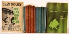 A lot of 11 books on or about various Irish writers, Irish stories, etc.