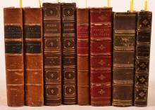 Eight Volumes - Various Books