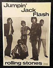 The Rolling Stones: 'Jumpin' Jack Flash' promo poster, 1968