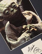 Film: Star Wars Yoda autograph