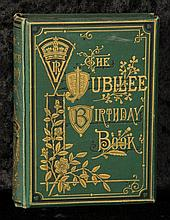 Hist: Queen Victoria Jubilee Birthday book 1887