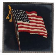 Framed Flag Textile