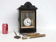 19th c. Continental Clock