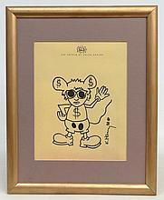 Keith Haring (N.Y./Penna. 1958-1990)
