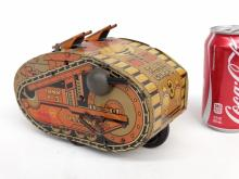 Marx Tank Tin Litho Toy