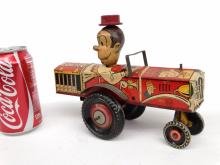 Marx Dagwood The Driver Tin Litho Toy