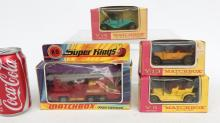 Collection Of Matchbox Cars In Original Boxes