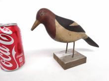 Folk Art Woodpecker Carving