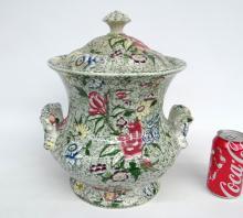 19th c. Covered Jar