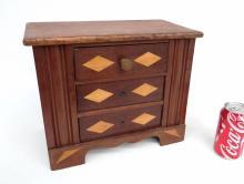 Folk Art Doll's Dresser