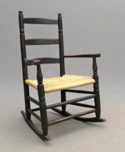 18th c. Child's Rocking Chair