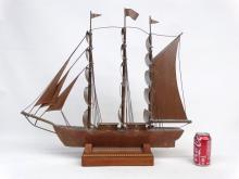 Copper Clipper Ship Model