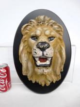 Cast Iron Lion Head From Circus Wagon