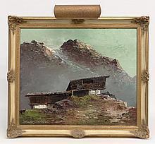 Georg Arnold-Grabone (1896-1982), Landscape