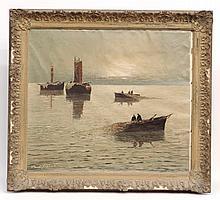 Georg Arnold-Grabone (1896-1982), Seascape